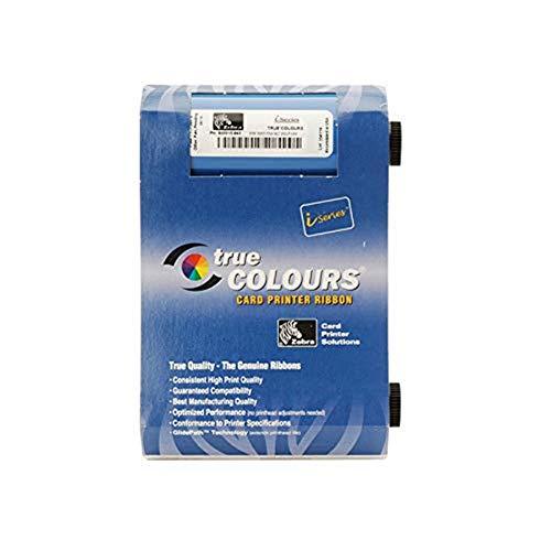 Cinta de Cinta de Color 800017-240 para impresoras Zebra P100i P100M P110i P120i 800017-240 YMCKO Ribbon 200 imágenes Originales