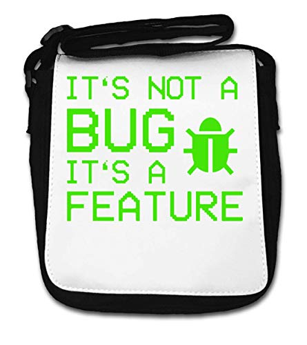 It\'s Not A Bug It\'s A Feature Gaming Glitch Small Shoulder Bag