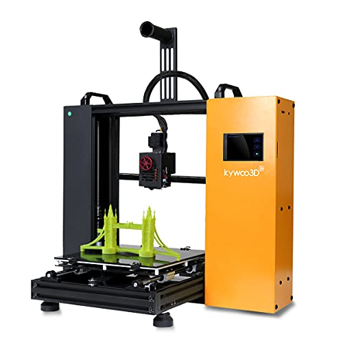 Kywoo Tycoon 3D Printer, Solid Cube with Linear Rail, Auto-leveling Sensor, and Wifi Function