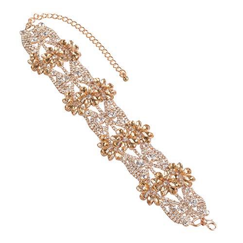 Holylove Fashion Jewellery Mujer Niñas Unisex Metal Alloy Aleación de metal Crystal