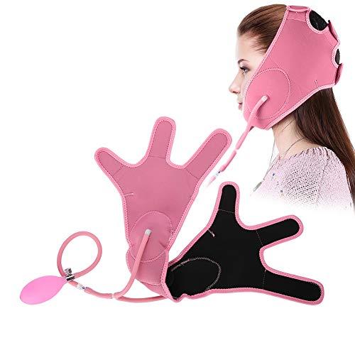 Bandage de massage facial - Masque Airbag - Pour massage/Lifting du visage/Renforcer la peau