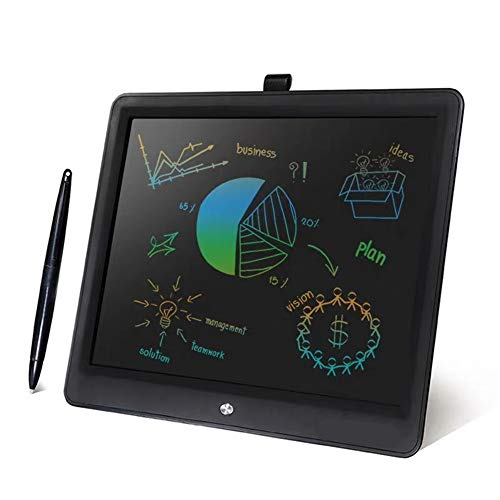 Oipoodde LCD Tablet 15 Inch Electronic Drawing and Writing Card for Children and Adults at Home School Black Color LCD Tablet 15 Inches