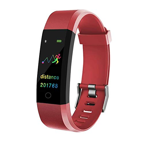 Save %33 Now! JZD ID115 Plus Color Screen Smart Bracelet Sports Pedometer Watch Fitness Running Walk...