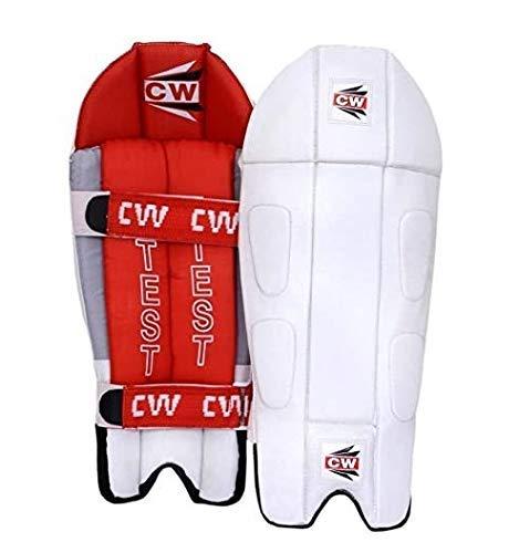 CW PRUEBA - Protectores de críquet para hombre, 53 cm, tamaño completo, cómodos y ligeros, almohadillas de protección para críquet 🔥