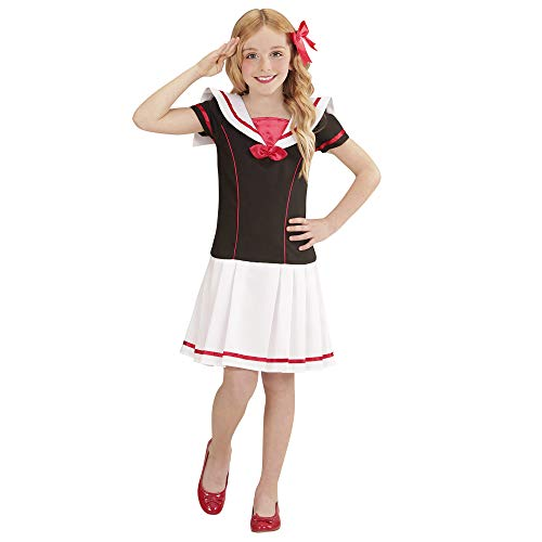 WIDMANN 02208 - Disfraz infantil de marinera (vestido)