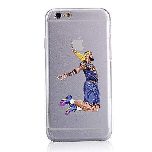 JLFDHR Moda Cellulare Soft Shell Cartoon Sport Basket Custodie per cellulari Cover per Apple iPhone 5 5s 1SE-per iPhone 5 5s SE