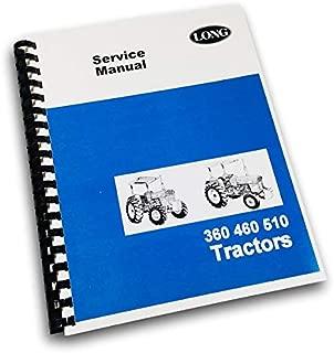 Long 360 460 510 Tractor Service Repair Shop Manual Technical Shop Book Overhaul