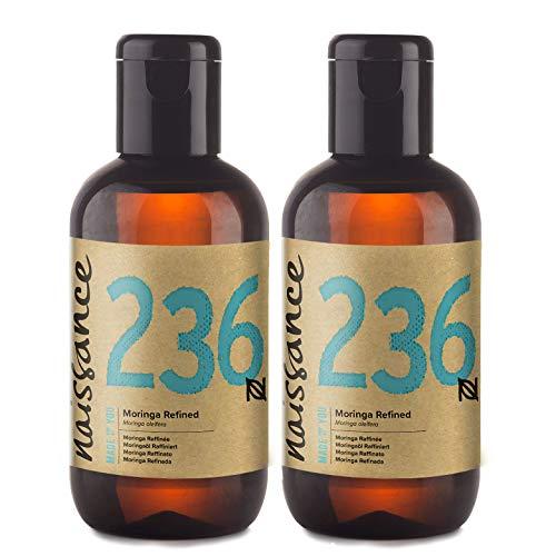 Naissance Moringaöl (Moringa Oleifera), raffiniert 200ml (2x100ml) 100% rein