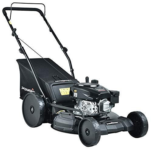 PowerSmart PSMB21P Gas Push Lawn Mower, Black