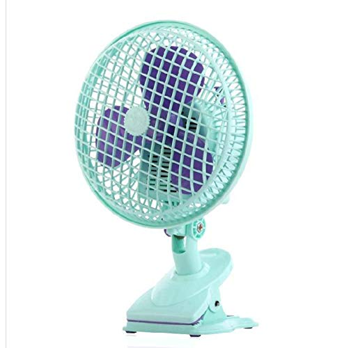 Mini USB Fan, Small USB Clip and Desktop Fans 4 Inch 2 Speed Portable Cooling Fans Electrical Fan Bank and Quiet for Office Home Car