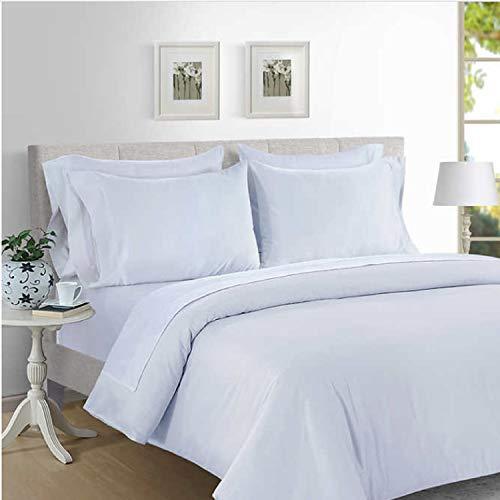 Hotel Signature Sateen 800 Thread Count Supima Cotton Sheet Set (Bright White, King)