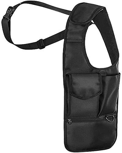 ACOMOO Bolso de hombro oculto de nailon antiladrones para antebrazo, bolsa de almacenamiento multiusos para hombres/mujeres, para hombres y mujeres, al aire libre, diestros