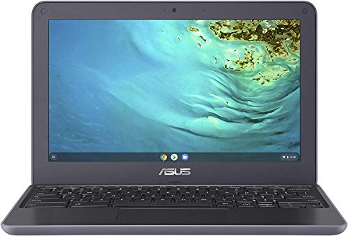 2021 Newest Asus Chromebook 11.6 Inch Laptop, MediaTek MT8173C 2.1GHz, 4GB RAM, 32GB eMMC, WiFi, Bluetooth, Webcam, Chrome OS + NexiGo 32GB MicroSD Card Bundle