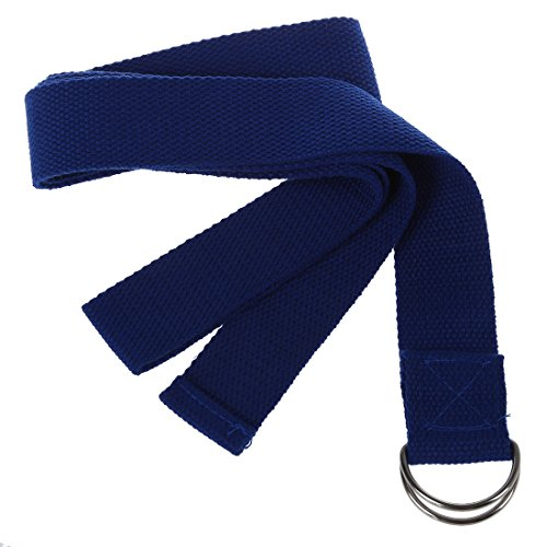 """TOOGOO(R) 1pz Color al azar 67 """" Cinturon de Poliester-algodon Correa de estiramiento de yoga ejercicio Accesorio de gimnasia de mantenimiento de Pilates"""