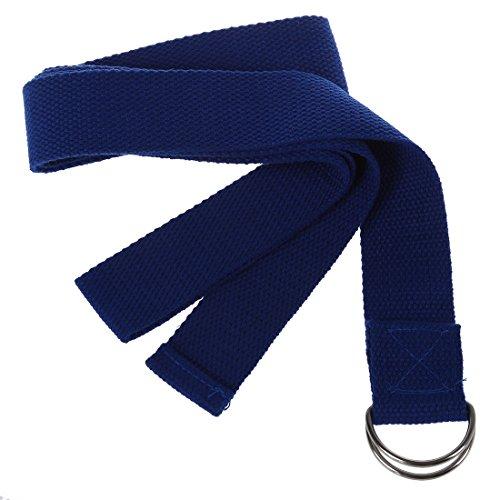 Kaxofang 1pz Color al Azar 67' Cinturon de Poliester-Algodon Correa de Estiramiento de Yoga Ejercicio Accesorio de Gimnasia de Mantenimiento de Pilates