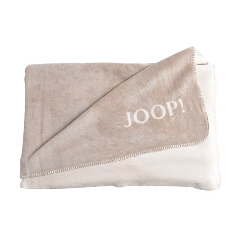 Joop! Uni-Doubleface Decke 150/200 Sand-pergament