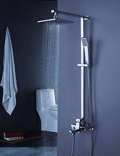 Douchebak kraan modern met 8 inch douchekop met handdouche