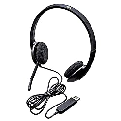 USB Connectivity : No need to install software, simply connect the headphones via USB-A to your laptop or computer Digital Stereo Sound : Crystal clear audio, ideal for gaming and skyping Noise-Cancelling Qualities : A rotating and noise-cancelling m...