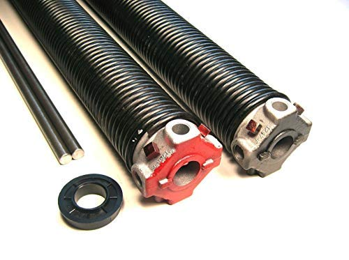 New Garage Door Torsion Springs Pair .243 x 2 5/8 ID x 40`Select Length - Winding Rod Options: Wiht...