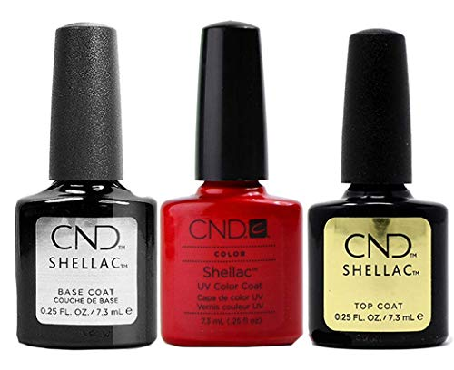 CND Original CND Shellac Hollywood plus Base Coat plus Top Coat 7.3 ml, 1er Pack (1 x 22 ml)