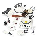 HJX888 Koffer Spielzeugset, Spielzeug Küche,Kinderküche Set,für Mädchen und Jungen,C