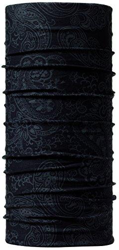 Buff National Geographic Pañuelo multifuncional tubular, unisex, color Gris (afgan graphite), talla única