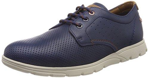 Panama Jack Domani, Zapatos de Cordones Oxford Hombre, Azul (Marino), 47 EU