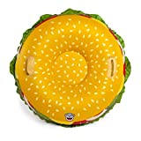 Big Mouth Toys BMST-0018 Big Mouth - Tubo de Nieve para Hamburguesa de Queso, Multicolor