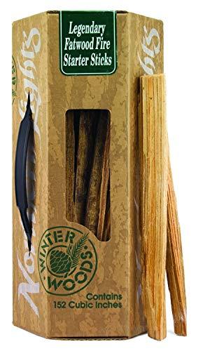 Legendary Winter Woods Fatwood Fire Starter Sticks Gift Box Kindling Wood Campfire Sticks Fatwood Fireplace