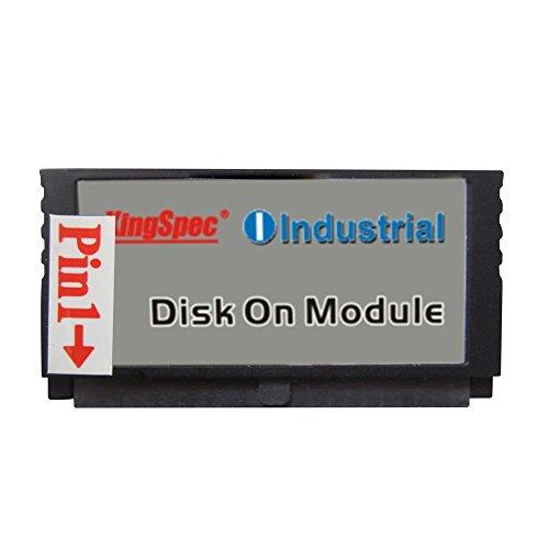 Kingspec 44 Pin IDE PATA MLC 4 GB DOM SSD Disk On Modul für Netzwerk-PC, Gaming (44 Pin IDE PATA 4 GB)