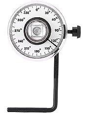 Ángulo de torque Ajustable 1/2 pulgada Ajuste de torque Pareja de ángulo de torque Herramienta de torque de 360 grados