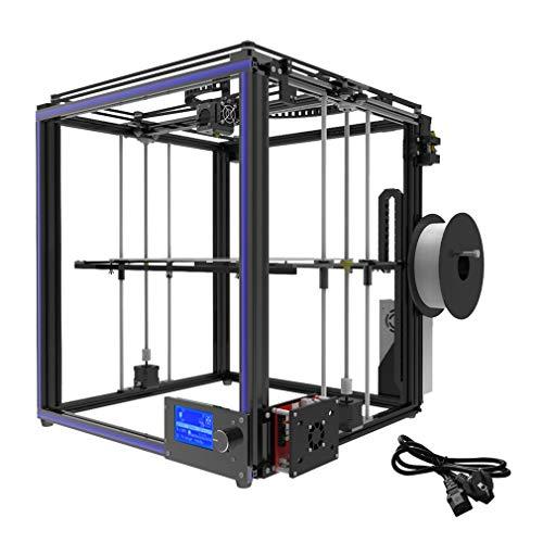 002fr X5S 3D Printer DIY Kits Aluminium Profile Seal With 12864 LCD Controller Black EU Plug
