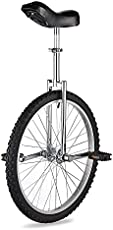 """AW 24"""" Inch Wheel Unicycle Leakproof Butyl Tire Wheel Cycling Outdoor Sports Fitness Exercise Health Silver"""