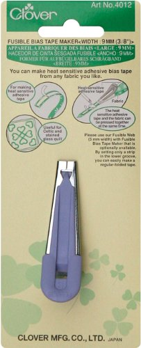 Clover Fusible Bias Tape Maker width 9mm