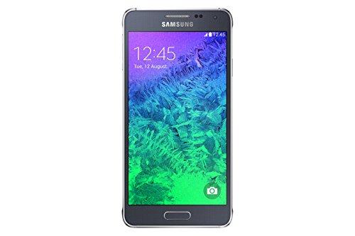 Samsung Galaxy Alpha Smartphone (4,7 pollici) Touch Display da 32 GB di memoria, Android 4.4, nero