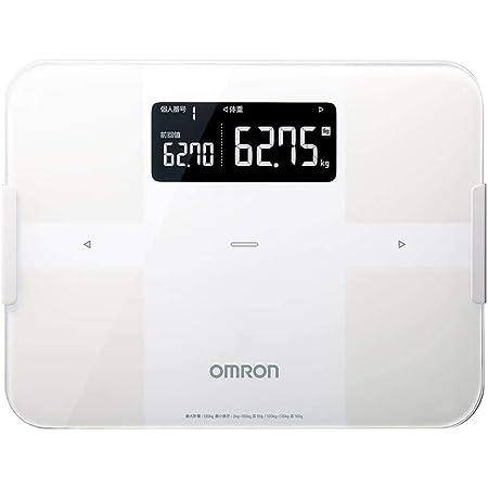 オムロン 体重・体組成計 カラダスキャン スマホアプリ/OMRON connect対応 ホワイト HBF-256T-W