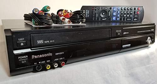 Panasonic DVD Recorder eith Incorporated Digital Tuner & VCR Combo, Model DMR-EZ37V.