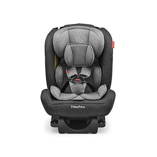 Cadeira Para Auto All-Stages Fix 2.0 Cinza e Preto - BB607, Fisher-Price, Preto e Cinza