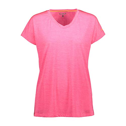 CMP Stretch T-Shirt with UPF 40 Protection Femme, Gloss