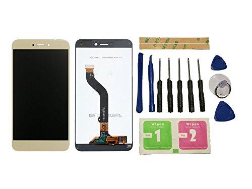 Flügel para Huawei P8 Lite 2017 5.2' Pantalla LCD pantalla Oro Táctil digitalizador Asamblea Pantalla ( sin marco ) de Recambio & Herramientas