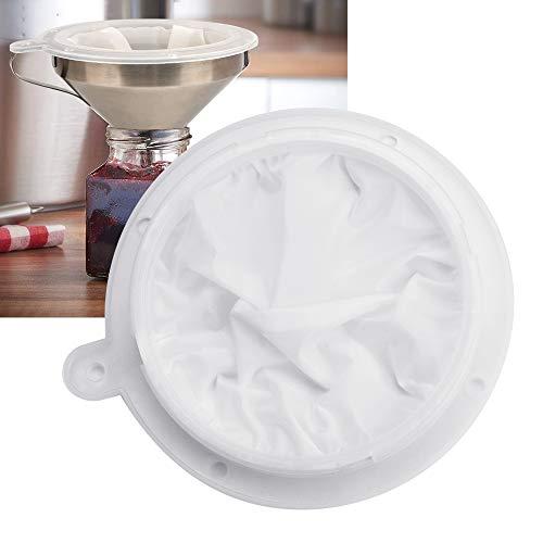 UTRUGAN Sieb Filter 400 Mesh Filter Nylon Weinfilter Weiß Likörfilter Filtersieb für Medizin, Lebensmitteln, Milch, Saft, Wein, Sojamilch oder Joghurt