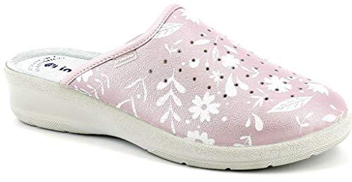 inblu Pantofole SANITARIE da Donna MOD. 50-51 Rosa (38 EU)