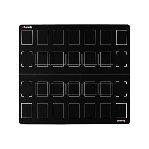 The Gaming Mat Company GMC Deluxe 2-Spieler-kompatibles Duell Grundlegendes Duell Yu-Gi-Oh-Stadionmatten-Brett-Spielmatte