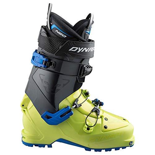 DYNAFIT M Neo PU Boot Grün-Schwarz, Herren Touren-Skischuh, Größe EU 46.5 - Farbe Asphalt - Lime Punch