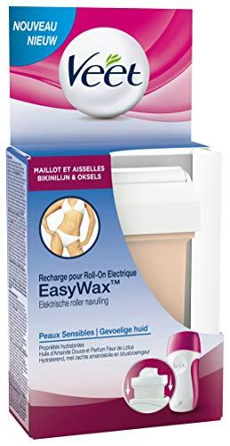 Veet Epilation Recharge EasyWax - Maillot et Aisselles - Peaux Sensibles - 50 ml