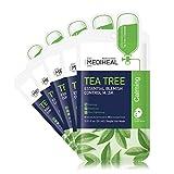 MEDIHEAL Official [Korea's No 1 Sheet Mask] - Tea Tree Essential Blemish Control Mask (5 Masks)