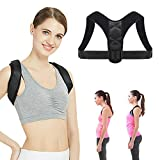 Posture Corrector for Men and Women, Eosvap Physical Therapy Posture Brace, Adjustable Back