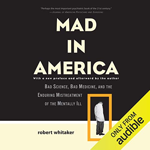 Mad in America audiobook cover art
