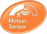 Osram LED Star+ Motion Sensor Classic A Lampe, in Kolbenform mit E27-Sockel, integrierter Bewegungssensor, Ersetzt 60 Watt, Matt, Warmweiß - 2700 Kelvin, 1er-Pack - 6