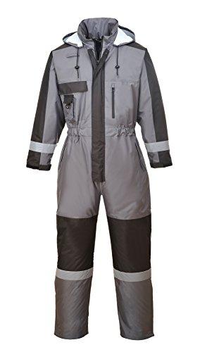 Portwest S585GRRL Traje de Protection, Invierno, L, Gris (Grey)